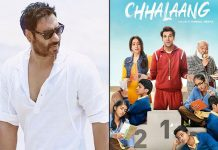 """ I think the whole script is very inspirational"", says Producer Ajay Devgn for Chhalaang"