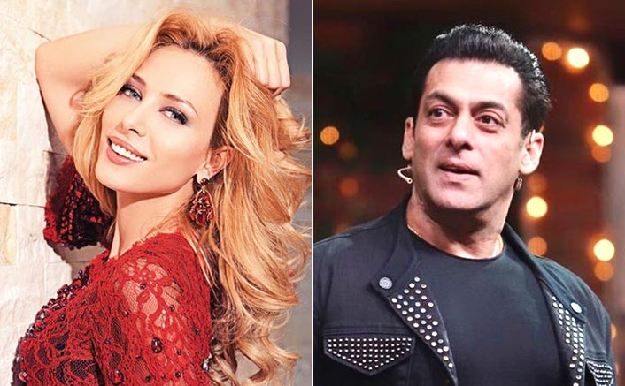 Iulia Vantur Promotes Salman Khan's Sanitiser Brand Frsh As She Records A Song, WATCH!
