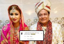 Jasleen Matharu & Anup Jalota Are Married? Memes Storm As Actress Shares Wedding Picture!