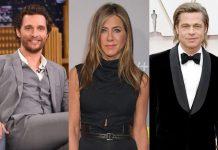 "Jennifer Aniston & Brad Pitt's S*xual Tension During Reunion Was ""So Palpable"" Jokes Matthew McConaughey"