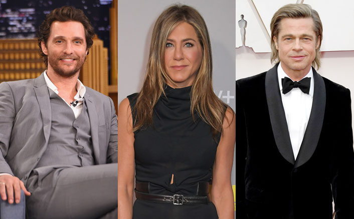 Matthew McConaughey Jokes About Jennifer Aniston & Brad Pitt's 'Palpable S*xual Tension' During Reunion