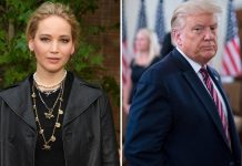 "Jennifer Lawrence Reveals Why She Won't Vote For Donald Trump: ""I Don't Want To Support A President Who Supports White Supremacists"""