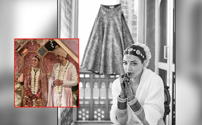 Kajal Aggarwal's Intricate Wedding Ensemble By Anamika Khanna Is A Match For All Young Brides Out There; Take Notes