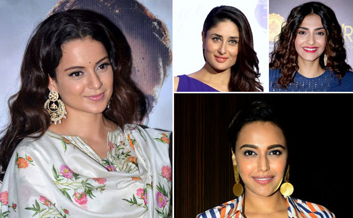 Kangana Ranaut Calls Out Kareena Kapoor, Sonam Kapoor & Swara Bhasker For Staying Silent Over Nikita Tomar's Murder