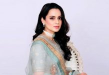 Kangana Ranaut Looks Absolute Diva In Pastel Lehenga & Welcomes Her Cousin's Wife