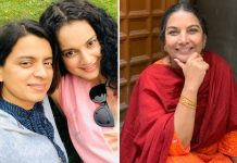 "Kangana Ranaut's Sister Rangoli BLASTS Shabana Azmi For Her Statements, Says ""Here Comes The Suicide Gang"""