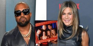 "Kanye West Gets Revenge As Jennifer Aniston Says Voting For Him Isn't Funny; Says, ""FRIENDS Wasn't Funny Either"""