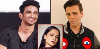 Karan Johar Gets Emotional About Sushant Singh Rajput In This Throwback Video; Netizens Ask If There's Even A Picture Of Kangana Ranaut With SSR