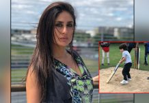 Kareena Kapoor Khan Shares A Picture Of Taimur Playing Cricket, Says They're Are IPL Ready!
