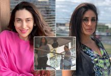 Kareena Kapoor Khan Shoots With Karisma Kapoor & All We Can Look At Is Her Baby Bump!