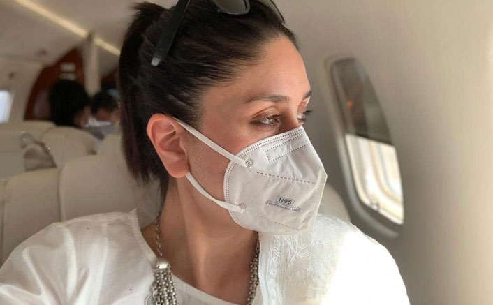 Kareena Kapoor Khan Gives A Subtle Reminder To Fans To Wear Masks While Stepping Out!