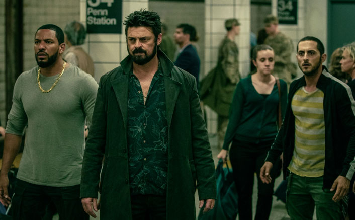 Karl Urban: 'The Boys' makes poignant social commentary(Pic credit: Movie Still)