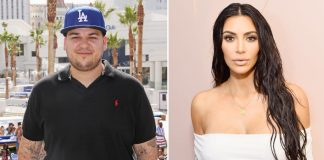 Keeping Up With the Kardashians: Rob Kardashian Makes Rare Appearance At Kim Kardashian's 40th Birthday Party