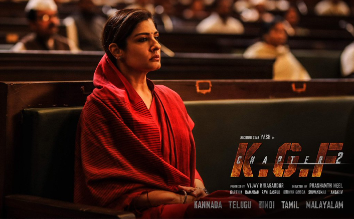 KGF 2 First Look Ft. Raveena Tandon OUT, Actress Reflects Fire & Pride As Ramika Sen!