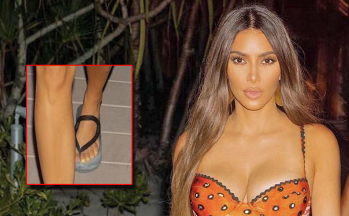 Kim Kardashian TROLLED Again As Her 6 Toes In Controversial Birthday Getaway PICS Are Visible!