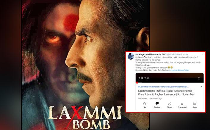 "Laxmmi Bomb Trailer: You Can't Like/Dislike It On YouTube, Viewers Say ""Makers Afraid To Break Sadak 2's Record"""