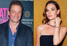 Lily James Appears At Jimmy Fallon's Chat Show To Promote New Film Rebecca But Makes No Mention Of Dominic West kiss Scandal