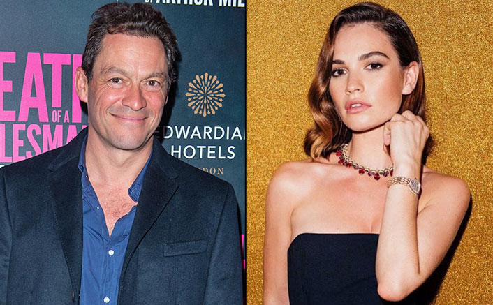 Lily James Promotes Rebecca At Jimmy Fallon's Chat Show WITHOUT Any Mention Of Dominic West Kiss Scandal