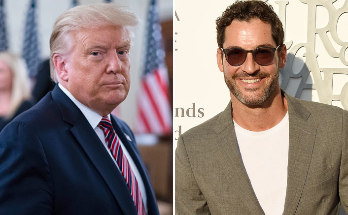 'Lucifer' star Tom Ellis criticises Trump for ignoring Covid precautions
