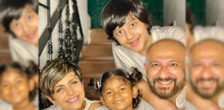 Mandira Bedi & Raj Kaushal Adopt A Baby Girl, Share A Beautiful Family Photo