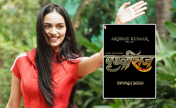 Prithviraj: Manushi Chhillar Joins Akshay Kumar For The Shooting Of The Upcoming Period Film