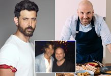 "Masterchef Australia Judge George Calombaris Shares A Throwback Pic With Hrithik Roshan & Says, ""I Think He Is Struggling On Insta Followers"""