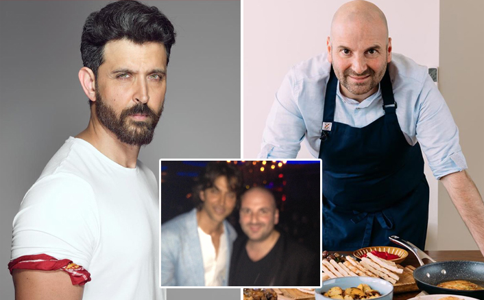 """Masterchef Australia Judge George Calombaris Shares A Throwback Pic With Hrithik Roshan; Says, """"I Think He Is Struggling On Insta Followers"""""""