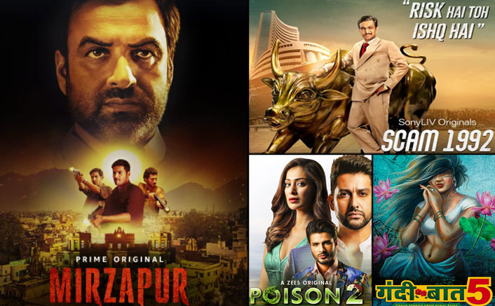 Mirzapur 2 Is The Most Viewed On OTT, Close On Heels Are Scam 1992, Gandii Baat 5 & Poison 2