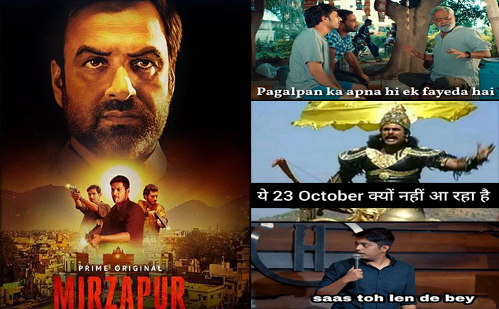 Mirzapur 2 Trailer Has BAWAAL Written All Over It, These Babu Bhaiya & Mahabharat Memes Are Proof