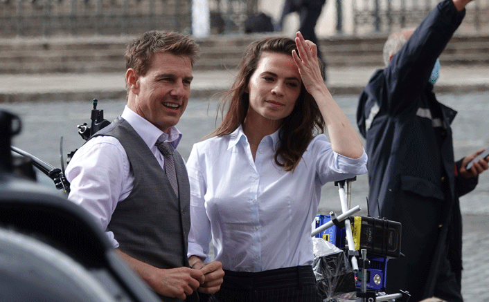 Mission Impossible 7: Tom Cruise & Hayley Atwell Are Action Ready On The Sets In Rome(Pic credit: Getty Images)