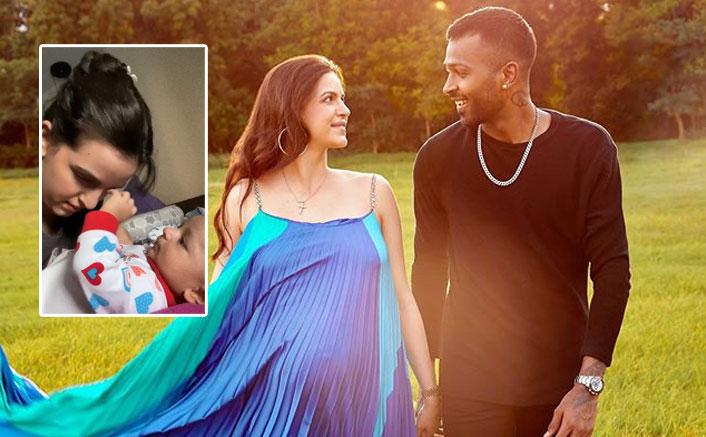Natasa Stankovic Shares A Cute Video Ft. Baby Agastya; Fans Call Him Hardik Pandya 2.0