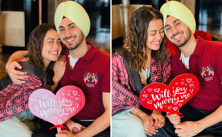 Neha Kakkar Gives Glimpses Of Her Proposal By Rohanpreet Singh & It Screams Nothing But LOVE!