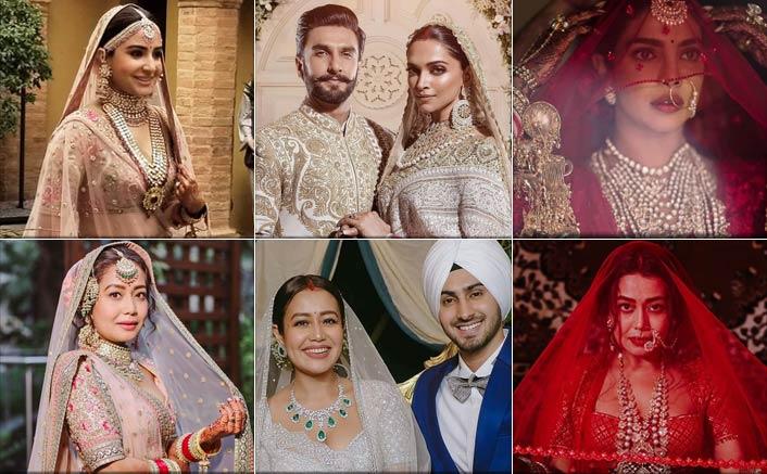 Neha Kakkar Trolled Over 'Copying' Wedding Outfits From Anushka Sharma, Deepika Padukone & Priyanka Chopra