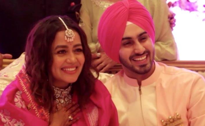 Neha Kakkar & Rohanpreet Singh Are Not Faking Their Wedding, FIRST Video Together From Roka Ceremony Out!