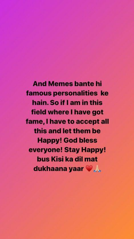 Neha Kakkar/ Instagram