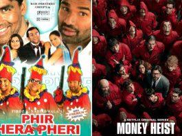 Netflix Calls Phir Hera Pheri The Original Money Heist, Netizens Have Hilarious Reactions