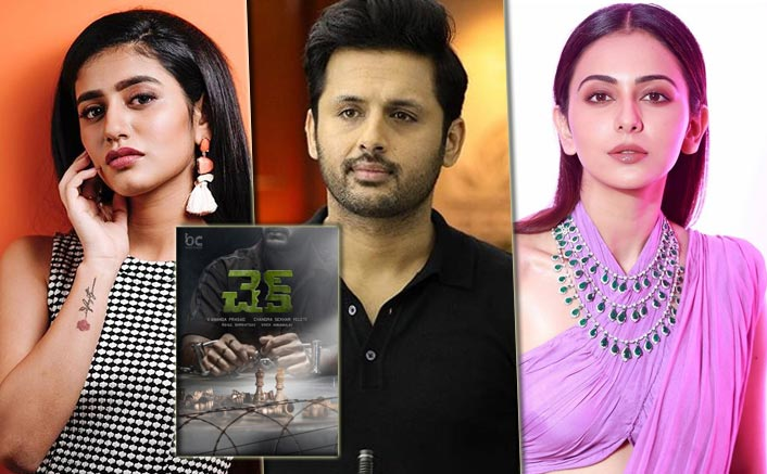 Nithiin, Priya PrakashVarrier & Rakul Preet Starrer Check's Poster Finally Out!