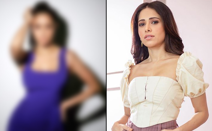 Chhalaang Actress Nushrratt Bharuccha Sizzles In Purple High Slit Dress, See PICS!