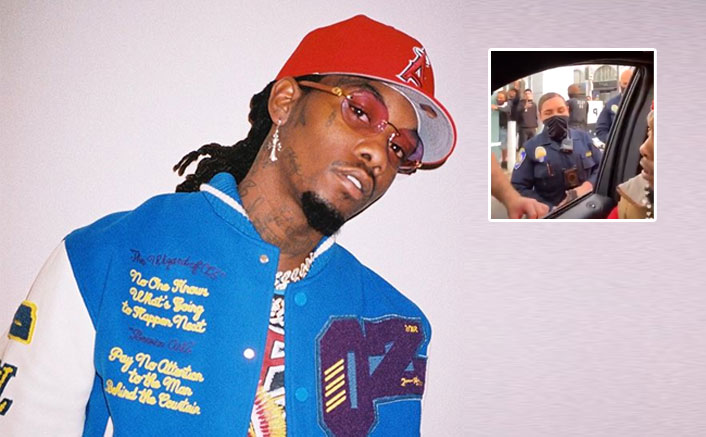 Offset Handcuffed By Cops, Streams The Entire Incident On Instagram Live(Pic credit: Instagram/offsetyrn)