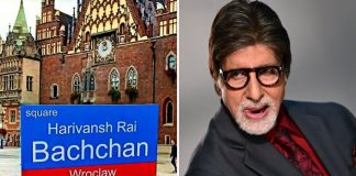 Polish city Wrocklaw names square after Big B's father Harivansh Rai Bachchan