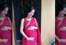 Pregnant Amrita Rao shares a video on Maha Ashtami, looks adorable in Saaree