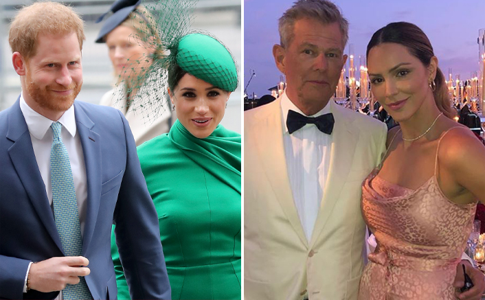 Prince Harry & Meghan Markle Go On A Double Date To Celebrate David Foster & Katharine McPhee's Pregnancy News