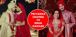 Priyanka Chopra VS Neha Kakkar Fashion Face-Off: Which Bride Painted The Town Red Like No Other?