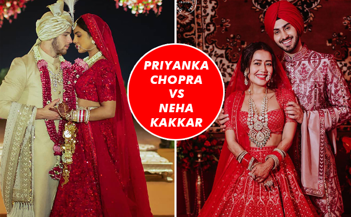 Priyanka Chopra VS Neha Kakkar Fashion Face-Off: Who Stunned The Red Affair Better Than The Other?