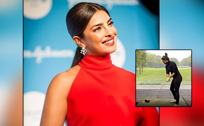 Priyanka Chopra Beats Monday Blues & The Golf Ball Out Of The Park!