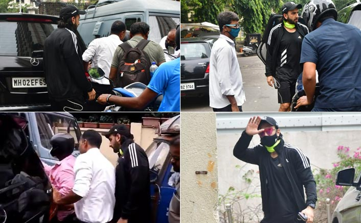 Ranveer Singh's Car Get Hit By A Bike, Actor Steps Out To See Damage Done - See Pics & Video Inside
