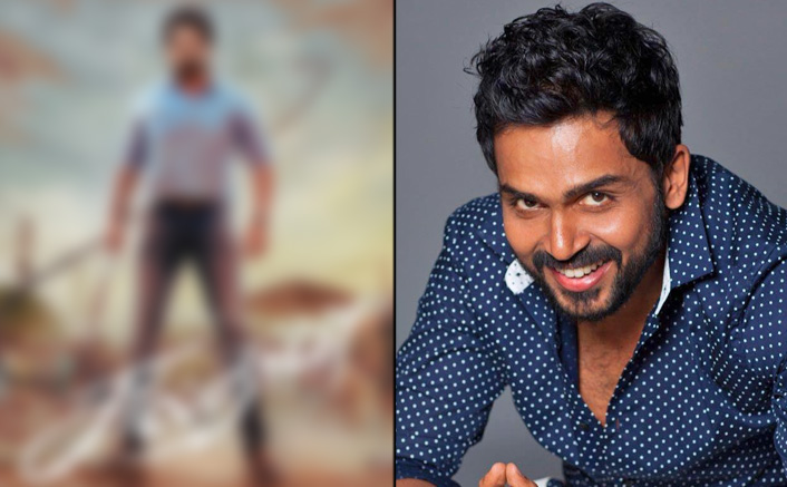 Sulthan First Look Out! Karthi With A Whip In His Hand Is Full With Rage