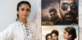 Rasika Dugal on Mirzapur Season 2 and A Suitable Boy streaming on the same day