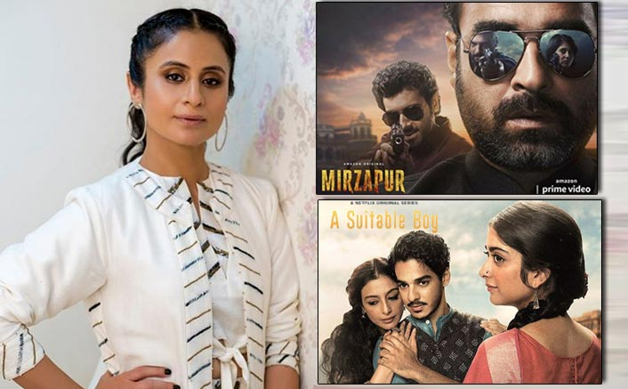 Rasika Dugal On Mirzapur 2 & A Suitable Boy Releasing On The Same Day!