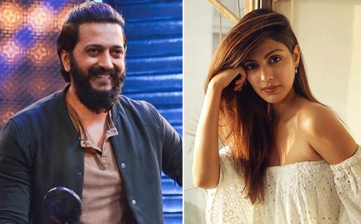 Rhea Chakraborty Files Complaint Against Neighbour Spreading Rumours, Riteish Deshmukh Hails Her For Taking A Stand(Pic credit: Instagram/rhea_chakraborty, riteishd)